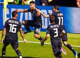 aguero argentina mondiali 2018