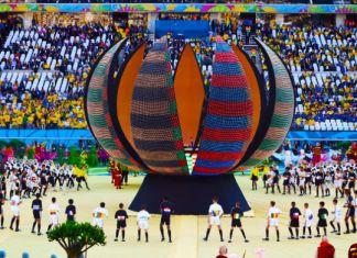 cerimonia apertura mondiali brasile 2014