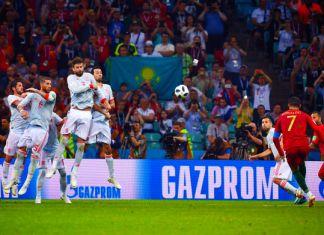 cristiano ronaldo gol portogallo-spagna mondiali 2018