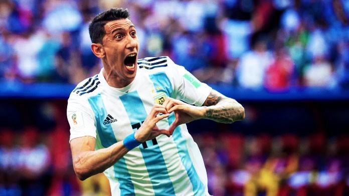 di maria argentina mondiali 2018