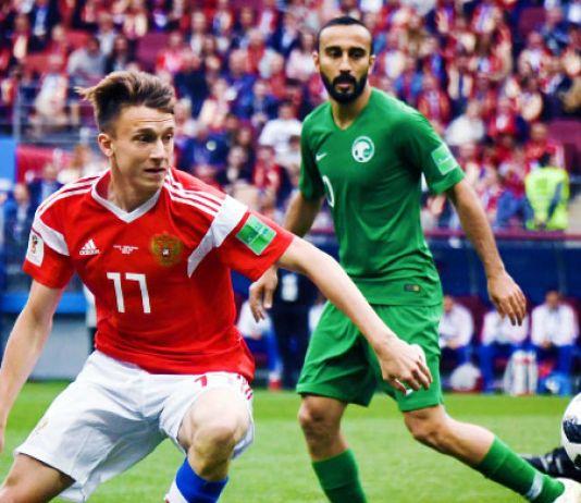 golovin russia-arabia saudita mondiale 2018