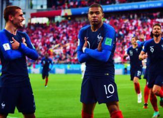 griezmann mbappé francia mondiali 2018