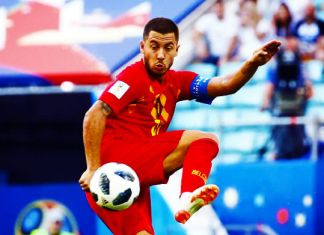 hazard belgio mondiali 2018