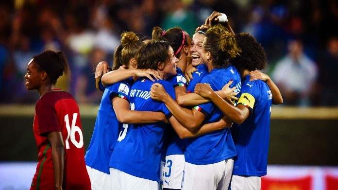 italia femminile portogallo