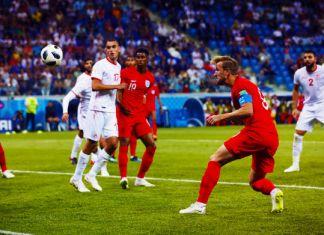 kane tunisia-inghilterra mondiali 2018