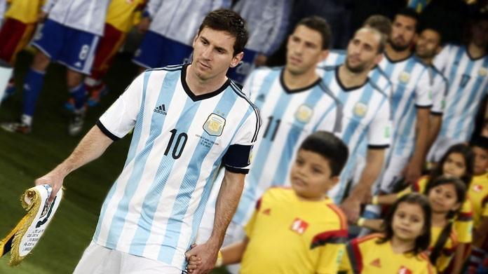 formazione argentina messi