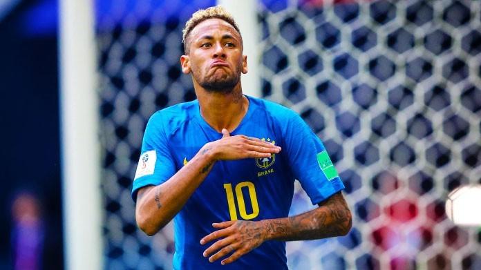 neymar brasile mondiali 2018