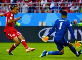 poulsen perù-danimarca mondiali 2018
