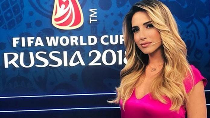 presentatrice mediaset mondiali giorgia rossi