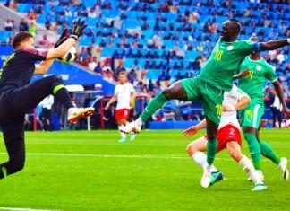 szczesny manè polonia-senegal mondiali 2018
