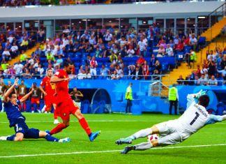 chadli gol belgio-giappone mondiali 2018