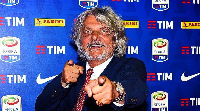 Sampdoria, Ferrero allo scoperto: «Vendo il club»