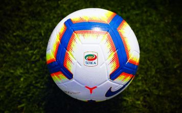 pallone serie a 2018/2019 nike merlin
