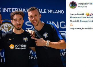 brozovic vrsaljko perisic inter instagram