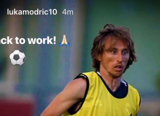 modric real madrid instagram