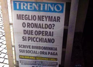 trentino neymar cristiano ronaldo