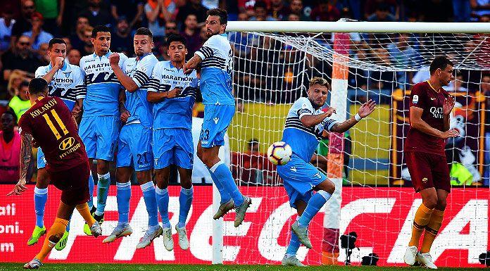Roma Lazio 0 0 LIVE: inizia il derby all'Olimpico!