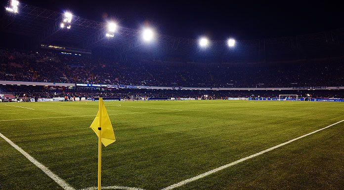 Napoli Parma a rischio rinvio: danni all'impianto causati da