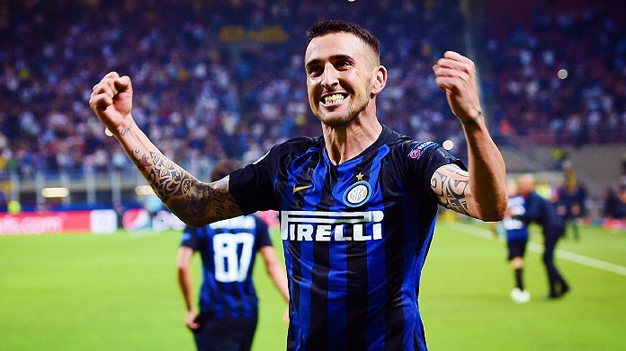 Seconda Maglia Inter Milan MATIAS VECINO