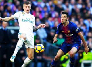 Barcellona kroos busquets real madrid-barcellona clasico
