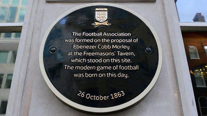 Nasce il calcio con la Football Association - 26 ottobre 1863