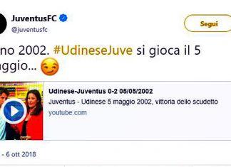juventus twitter 5 maggio 2002