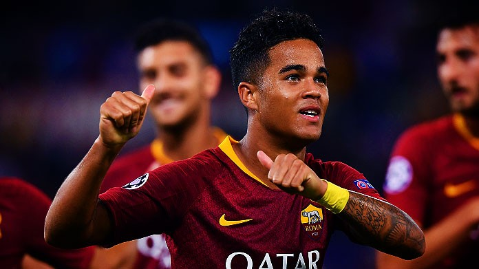 kluivert roma