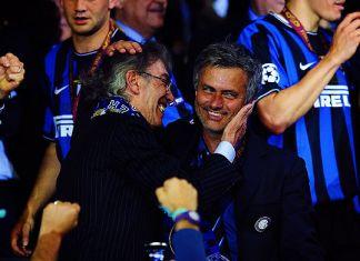 moratti mourinho inter champions league