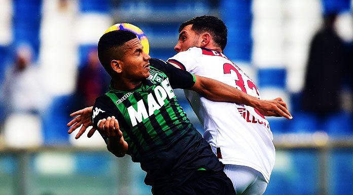 Infortunio Rogerio: le condizioni del difensore del Sassuolo