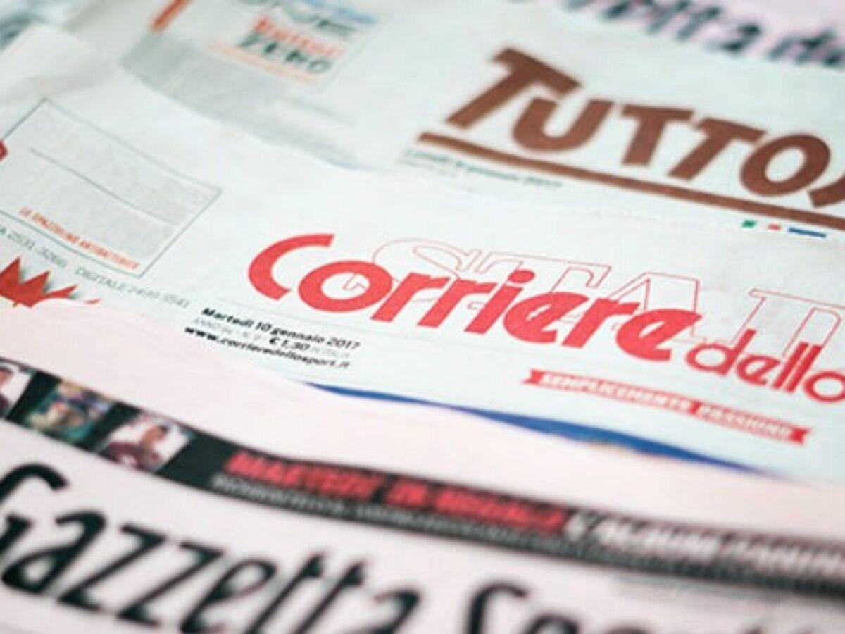 Prime Pagine Quotidiani Sportivi Di Oggi Tuttosport Gazzetta Corriere