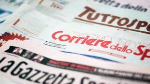 Quotidiani sportivi, le prime pagine: Juve tra Zidane e Allegri. CR7 via?