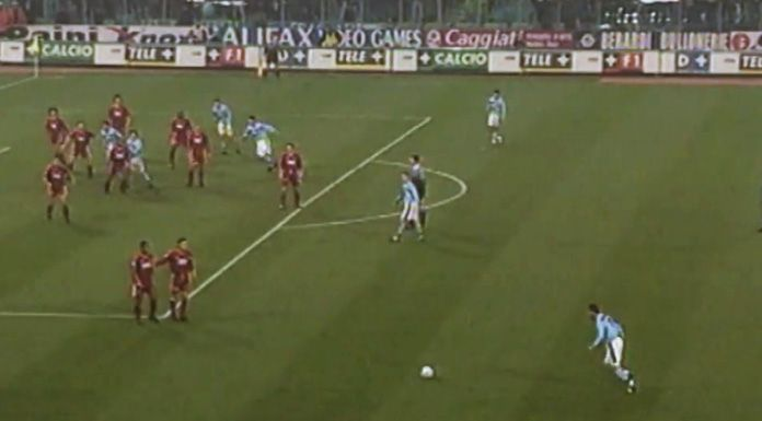 Roma Lazio 3 3, spettacolo all'Olimpico – 29 novembre 1998 – VIDEO