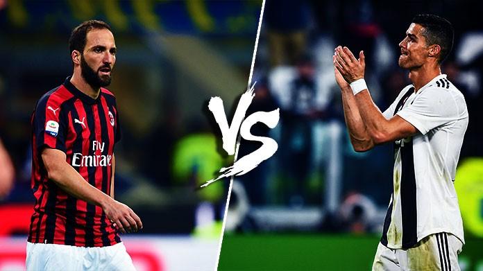 784997ed2e947 Higuain sfida Ronaldo  Milan-Juventus è una questione molto personale