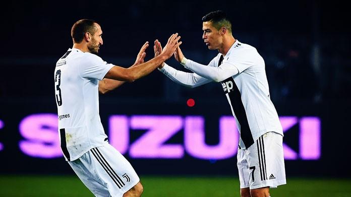 Ronaldo Chiellini Juventus