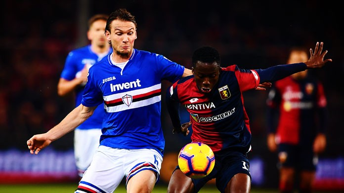 derby Sampdoria Ekdal