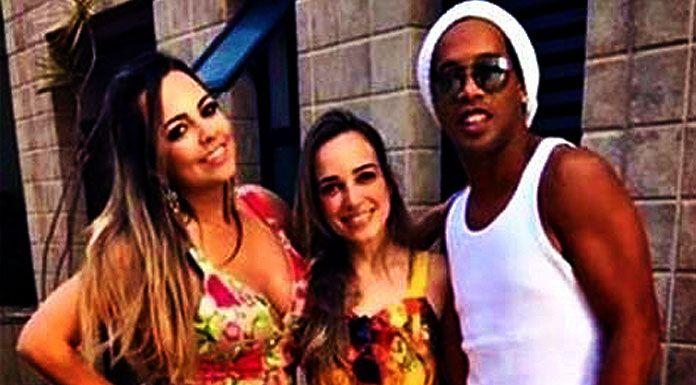 Ronaldinho ancora nei guai: festino con modelle famose