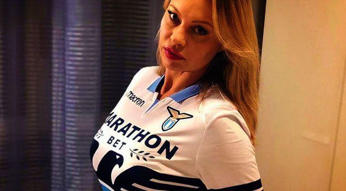 La Lazio vince il derby. E Anna Falchi si spoglia su Instagram – FOTO