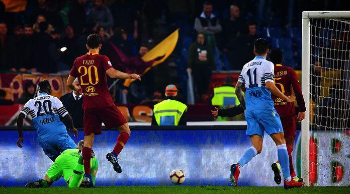 Roma, il distacco con la Lazio è impietoso. Solo due volte così male