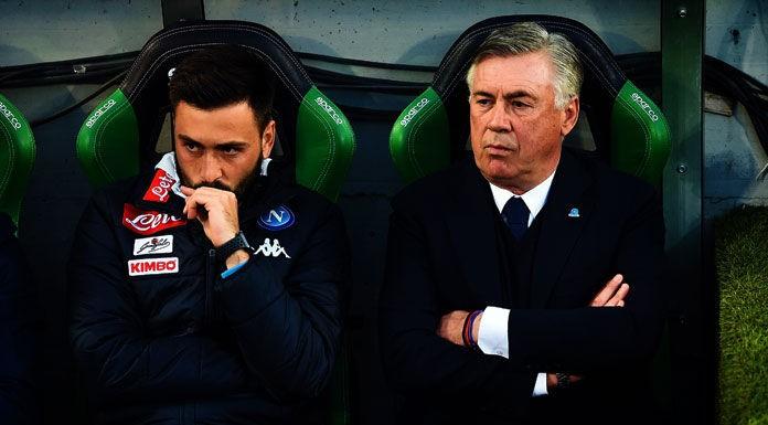 Esonero Ancelotti, il saluto del figlio Davide al Napoli: «G