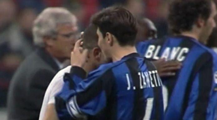 La vittoria dell'Inter nel derby di Milano – 5 marzo 2000 – VIDEO