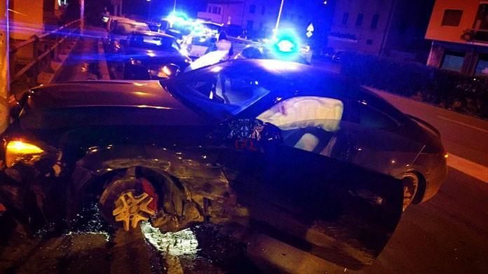 incidente auto defrel sampdoria