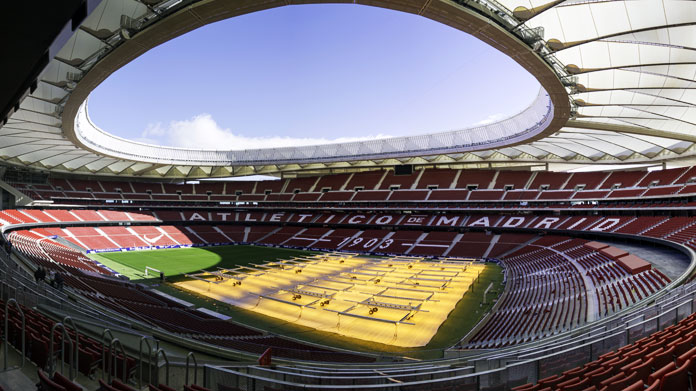 Wanda Metropolitano Madrid Stadio Settori