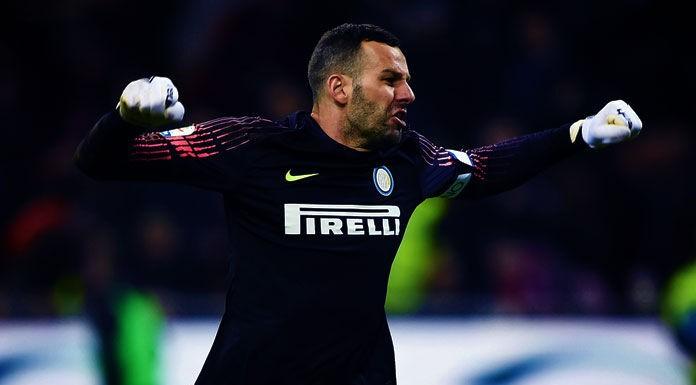 Handanovic vede la Juventus: controllo positivo per il portiere dell'Inter