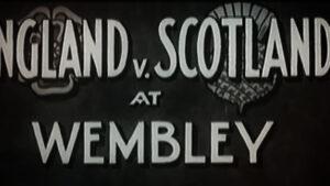 Inghilterra-Scozia    la prima diretta televisiva – 9 aprile 1938 – VIDEO