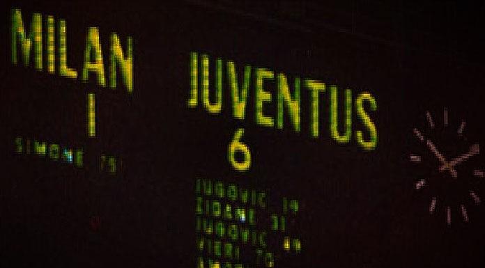 L'1 6 della Juventus contro il Milan di Sacchi – 6 aprile 19