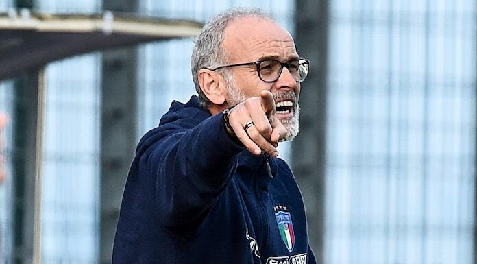 Italia U21, Nicolato: «Se c'è bisogno di giocare una volta a