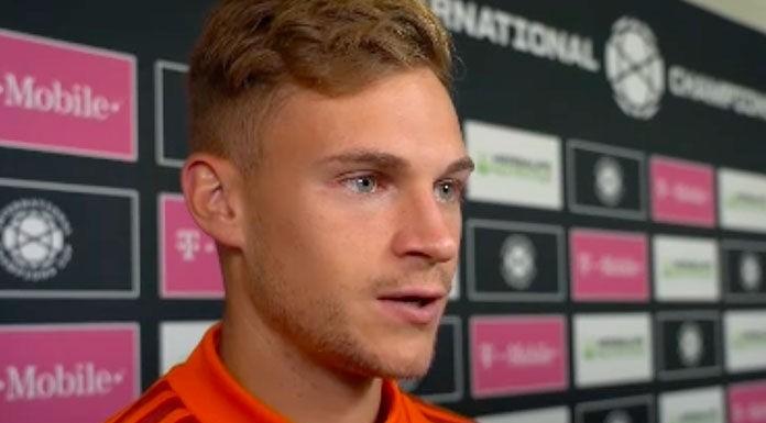 Gol Kimmich: pallonetto favoloso, Bayern avanti sul Dortmund