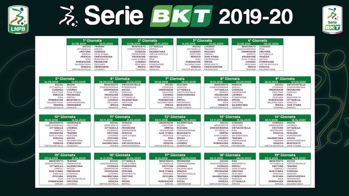 Calendario Play Off Serie B.Calendario Serie B 2019 2020
