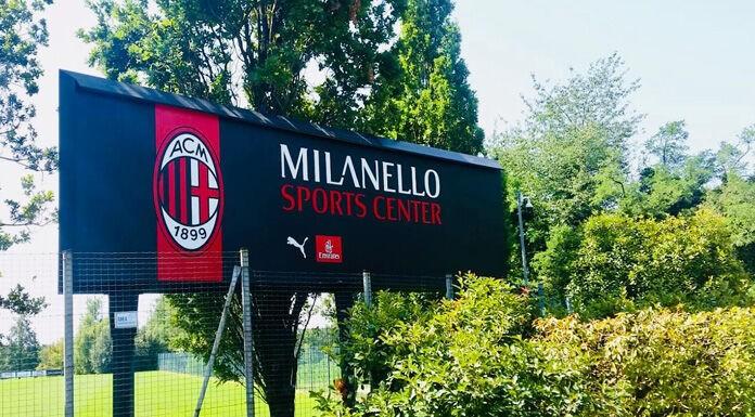 Milan, tromba d'aria a Milanello: centro sportivo isolato