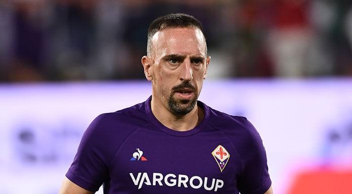 Fiorentina Inter, difficile il recupero di Franck Ribery